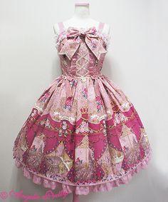 Angelic Pretty True Rose Storyジャンパースカート