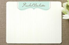 easy elegance Personalized Stationery by Carrie ONeal at minted.com