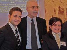 Da sinistra Matteo Natali (vincitore del V° GPAV), Massimo Borriello (Presidente AIRA Veneto) e la vincitrice Valentina Pizzol @ VI° GPAV.