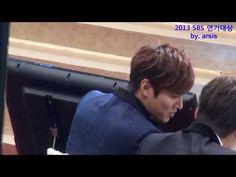 직캠) 2013 SBS 연기대상 - 이민호 5관왕 수상★ ( by. 아르시스) - YouTube