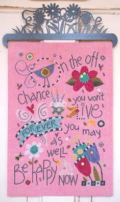 Happy Life! - Part 3 of 3 - Cross Stitch Pattern by SamSarah