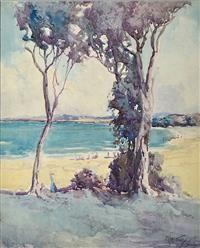 M. J. MACNALLY (1874-1943) Devonport, Tasmania watercolour