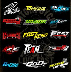 Fiverr freelancer will provide Logo Design services and make logo racing and automotive design lettering including # of Initial Concepts Included within 3 days Vespa Racing, Fox Racing, Auto Racing, Drag Racing, Automotive Logo, Automotive Design, Martini Racing, Logo Sticker, Sticker Design