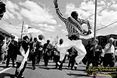 Jazz Funeral with Treme Brass Band, New Orleans.