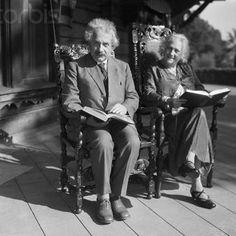 Elsa y Albert Einstein