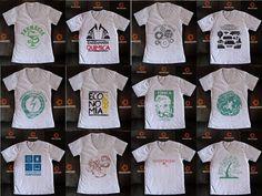 Camisa universitária para estudantes e afins. Acesse outros modelos em www.moveclube.com.br