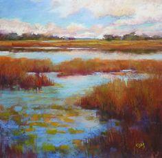 Painting My World: Liz Haywood-Sullivan Workshop Report ... Day Three...