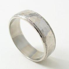 46 Best Men S Wedding Rings Images On Pinterest Wedding Men