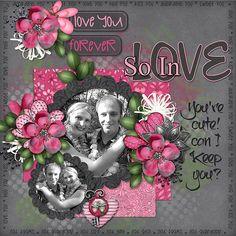 So In Love - Scrapbook.com