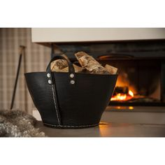Infora Classic Recycled Rubber Basket