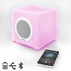 AudioSonic SK1539 Bluetooth Speaker with LED Lights