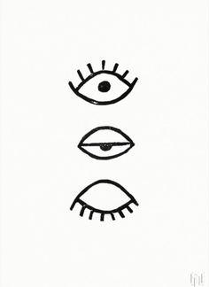Eye Eye via ThePosterClub.com
