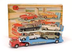 corgi car transporter, my brother had masses of toy cars