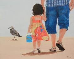 Choose your favorite father daughter paintings from millions of available designs. All father daughter paintings ship within 48 hours and include a money-back guarantee. Father And Girl, Father Daughter Photos, Family Illustration, Illustration Art, Dad Drawing, Fathers Day Coloring Page, Baby Art, Cute Cartoon Wallpapers, Art Drawings Sketches