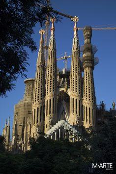 Fachada de la Pasión  #sagradafamilia #fachada #pasión #barcelona #españa