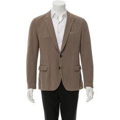 Pre-owned Dolce & Gabbana Woven Peak-Lapel Jacket