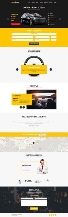 Wheelsberry – Car Rental WordPress Theme / Landing Page, Corporate Business