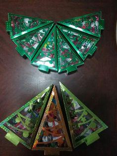 Regalos navideños Árboles Scrap