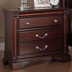 Rhapsody 2-drawer Nightstand