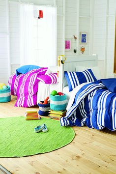 Cheery sleep sets from @thecompanystore will make the kids eagerly await bedtime.