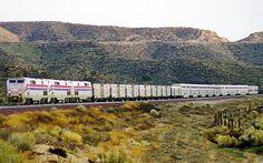 Cajon Pass CA Martinez Spur  January 1998