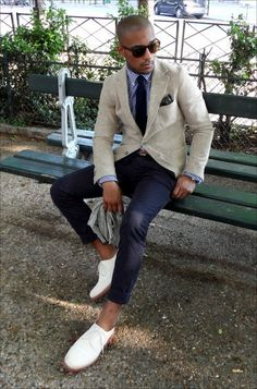 Men\s Style Inspiration: STREET LOOK - speckled