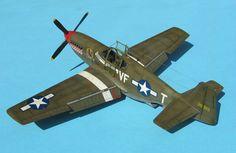 Tamiya's 1/48 scale P-51B Mustang by Tolga Ulgar: Image