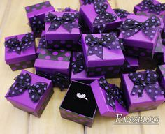 Wholesale New 24pcs Lot Jewellery Fashion Rings & Earrings Gift Box 1017