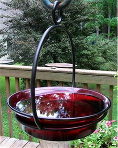 Versatile! Offer seed, suet, peanuts, fruit, mealworms, and of course... fresh water to entice feathered friends!