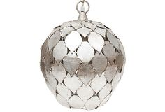 Iron Silver Leaf Pendant on OneKingsLane.com