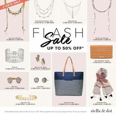 ❄ Winter Storm Stella ❄ +   🚨 State of emergency 🚨=  Hunker down 🏡 and let the early online shopping commence 🛍💍💎🎉!!!!   🌟🌟🌟 FLASH SALE 🌟🌟🌟  www.stelladot.com/ashleebailey
