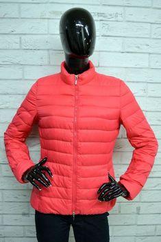 Giubbotto GEOX Donna Taglia Size S Giacca Imbottita Jacket Giubbino Woman  Rosa 7d0eecfe779