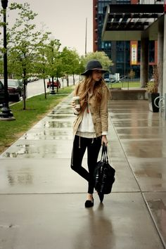 Rainy Day Outfit