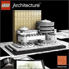 LEGO Architecture Frank Lloyd Wright Guggenheim Museum