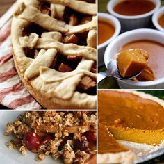 Vegan Thanksgiving Pies and Desserts