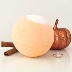 Our Pumpkin Spice Latte bath bomb every bit as comforting and delicious as your favorite Fall drink - without all the calories! It contains a super hydrating blend of sweet pumpkin, cinnamon & clove scents that will leave you feeling warm and cozy on those crisp Autumn nights... Fall into Autumn with our new Pumpkin Spice Latte Bath Bomb!