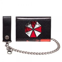 Resident Evil Umbrella Corporation Metal Chain Wallet Anniversary Zombie for sale online Umbrella Corporation, Cool Toys, Awesome Toys, Wallet Chain, 20th Anniversary, Resident Evil, New Toys, Metal Chain, Ebay