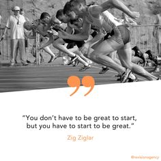 There's never been a better time to get started. Have you gotten started? Success Mindset, Success Quotes, Motivational Posts, Inspirational Quotes, Zig Ziglar, Being In The World, Monday Motivation, Never, Get Started