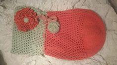 Babey cacoon ....#مهاد أطفال من الكروشيه Crochet Hats, Beanie, Knitting Hats, Beanies, Beret