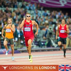 The University of Texas at Austin  Longhorns in London: Trey Hardee wins silver!    Hardee is the first Longhorn to medal in a decathlon. (Photo by Errol Anderson)    UT Olympians have now won nine medals in the summer games. That's more than 56 countries!