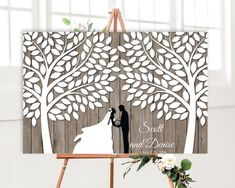 book Wedding guest book alternative tree with 200 signature leaves, Rustic wedding guest book alternative canvas signature Tree modern guest book Wood Guest Book, Rustic Wedding Guest Book, Guest Book Sign, Guest Books, Guest Book Tree, Wedding Book, Canvas Display, Wedding Guest Book Alternatives, Rose Wedding