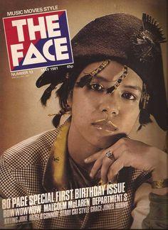The Face Magazine No.13 Bow Wow Wow Annabella, Grace Jones, Killing Joke on Etsy, $32.00