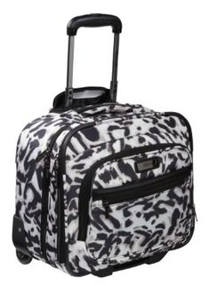 c6377d1f4a0f Kenneth Cole Reaction Savageur Wheeled Overnighter carry-on Animal Print -  Kenneth Cole Reaction Small Rolling Luggage