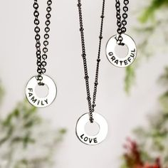 Popular WORD Necklace