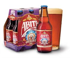 """Abita Jockamo is an American I.P.A brewed with pale, red, and caramel malts. This copper colored ale is liberally hopped and dry hopped with Willamette and Columbus hops. The flavor is bold like the """"Mardi Gras Indians"""" who march through New Orleans in suits of feathers and beads."""