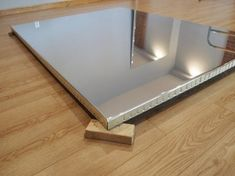 Construction of a Mylar Mirror Following are instructions for the construction of a mirror using reflective Mylar sheeting. Materials used are: 2 MIL IS EASIER