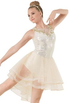 Weissman™ | Sequin Velvet Dress with Appliques