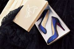 Christian Louboutin shoes in Cinemagraph by Jamie Beck & Kevin Burg my dream! Sparkly Shoes, Blue Shoes, Glitter Shoes, Sparkle Heels, Christian Louboutin, Louboutin Shoes, Glitter Girl, Blue Glitter, Coco Rocha