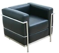 Le Corbusier LC2 Comfort Sofa Chair - *** Affordable, High-Quality, Modern Furni Regency Shop