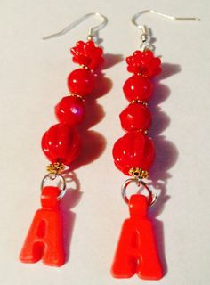 "MoonlitShop Red Letter ""A"" Earrings MoonlitShop,http://www.amazon.com/dp/B00JIANMDU/ref=cm_sw_r_pi_dp_HNDqtb0KETEAFW6P"